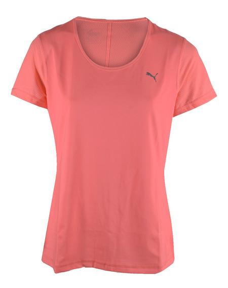 Remera Puma Layer Tee Mujer Rosa