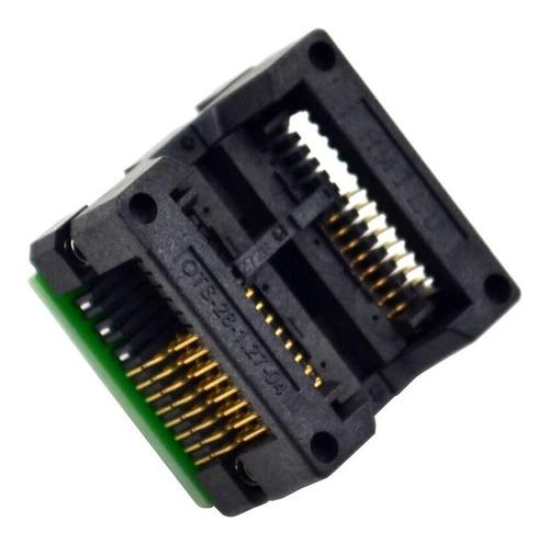 Adaptador Socket Sop16 A Dip8 300mil Memoria Eeprom Ch341