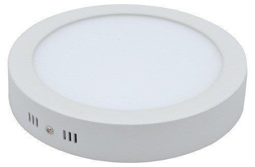 Plafon Sobrepor Redondo Led 18w Luminaria Branco Frio 6500k