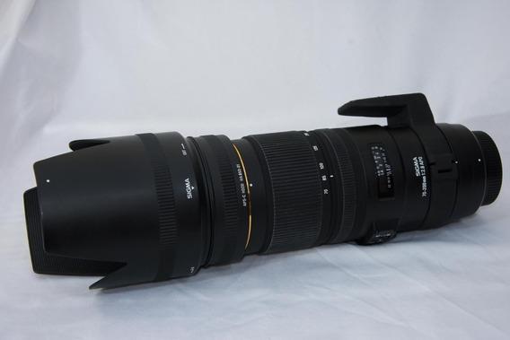 Lente Sigma (nikon) 70-200mm 2.8 Apo Dg Hsm Optical Stabiliz