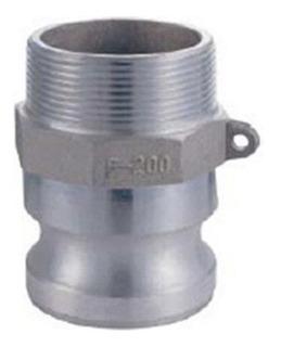 Conexión Rápida De Alumino P/tubo 2 Pulg Camlock Parte F-200