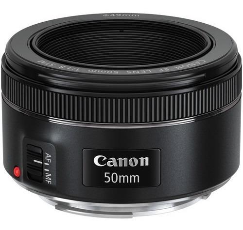 Lente Canon 50mm 1.8 Stm Nova Lacrada