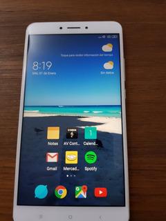 Xiaomi Mi Max 2 Casi Nuevo, 64 Gb Y 4 Gb Ram Con Funda, 4g