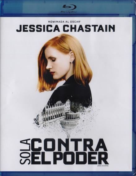 Sola Contra El Poder Miss Sloane Pelicula Blu-ray