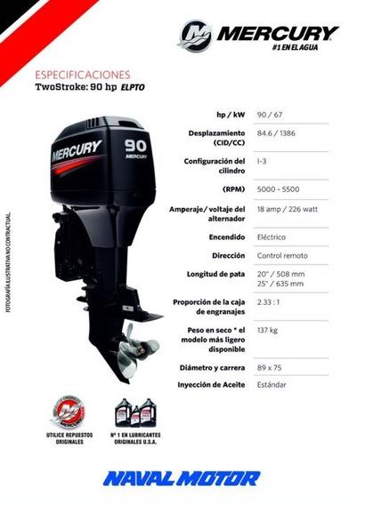Motor Mercury 90 Hp 2 Tiempos