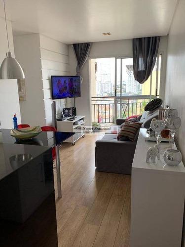 Moóca - Zl/sp - Apartamento Impecável De 2 Dormitórios, 1 Vaga - Ap7024