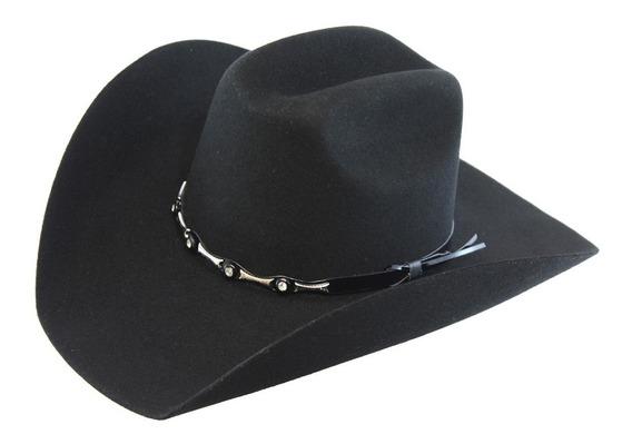 Sombrero Texana Goldstone Toro 100% Lana Fina.