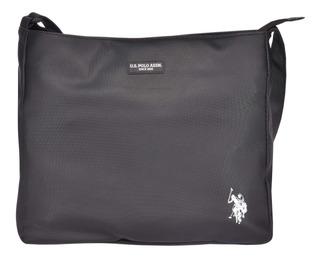 Hand Bag U.s. Polo Negra Usbag41067 Unisex