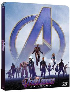 Blu-ray Avengers Endgame 3d + 2d / Steelbook