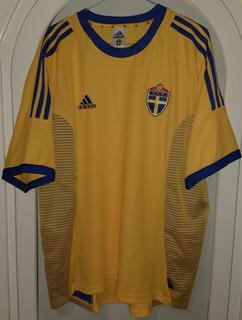 Jersey Seleccion De Suecia Año 2002 adidas Talla Xl