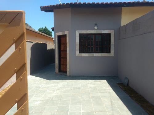 Imagem 1 de 11 de Casa Geminada No Bairro Nova Itanhaém, Em Itanhaém - Ca355-f