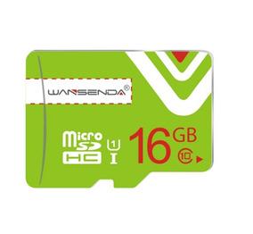Cartão De Memoria Wansenda 16gb Classe 10 + Adaptador