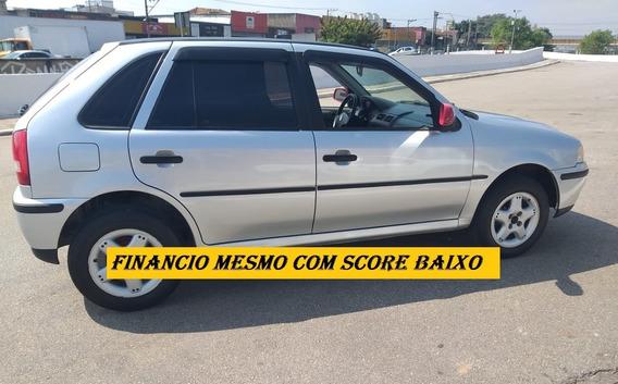 Vw Gol 2002 Com Direção Financiamento Sem Score