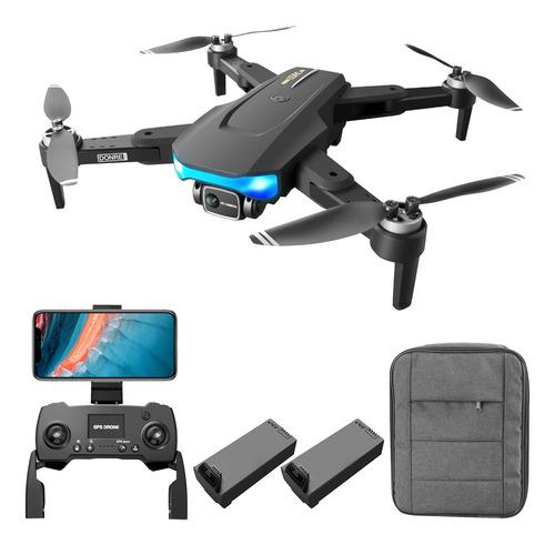 Imagen 1 de 6 de Gps Rc Drone Con Cámara Para Adultos Rc Drone Con 6k Bu
