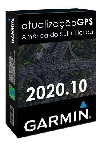 Atualização Gps Garmin Mapa Brasil + América Do Sul 2020.10