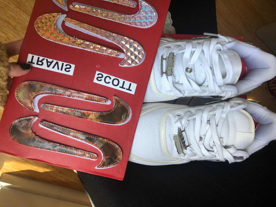 Zapatillas Nike Air Force X Travis Scott Originales
