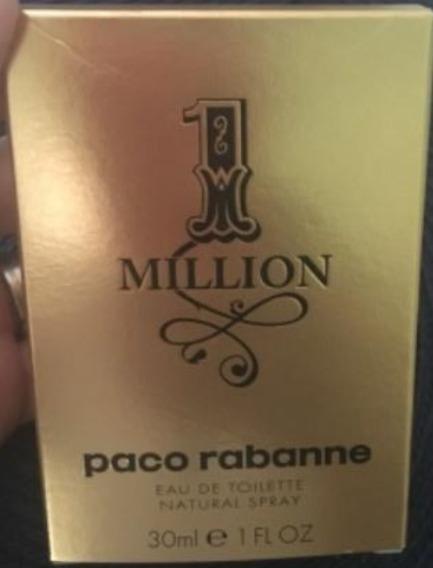 Perfume One Million 30 Ml Paco Rabane Original