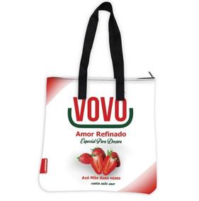 Bolsa Feminina Neoprene Eco Dia Das Mães (vovó Com Açúcar)