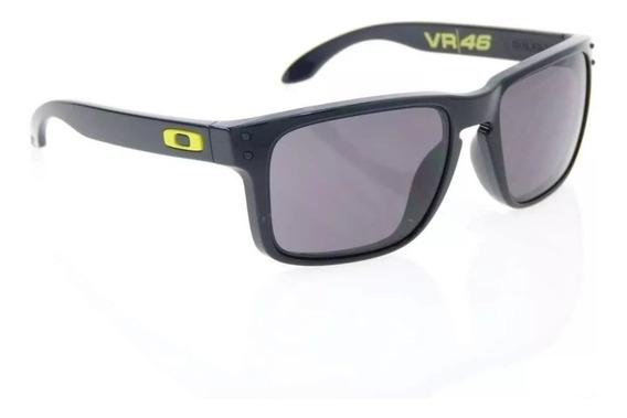 Oculos De Sol Holbrook Vr46 Preto Cx Marrom Polarizado 12x!!