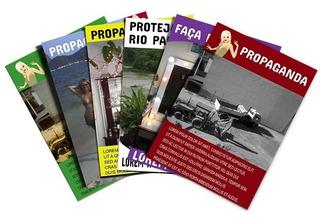 5000 Panfletos 10x15cm + 1000 Cartões De Visita Arte Gratiss