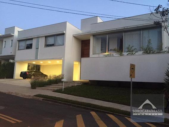 Sobrado Com 4 Dormitórios À Venda, 520 M² Por R$ 3.300.000,00 - Condomínio Village Sunset - Sorocaba/sp - So0139