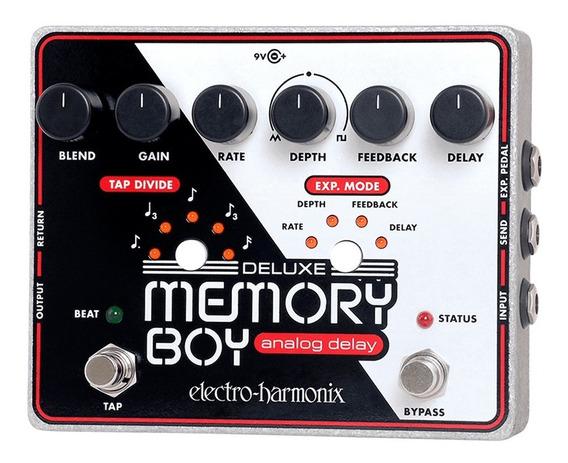 Pedal Electro-harmonix Deluxe Memory Boy Analog Delay Tempo