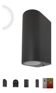 51294 Luminario Decorativo A Muro Con 2 Bases Gu10 Luz Direc