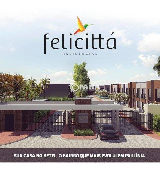 Casa Com 3 Dormitórios À Venda, 92 M² Por R$ 480.000,00 - Betel - Paulínia/sp - Ca1852
