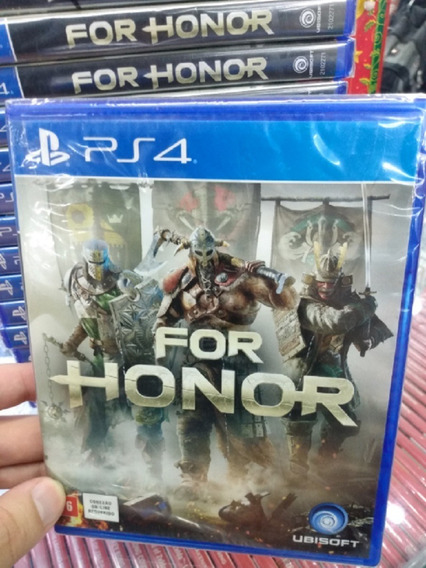 For Honor Ps4 Mídia Física Novo Lacrado Pronta Entrega