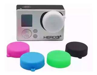 Tapa Lente Para Gopro. Impresa En 3d. Verde Eléctrico. Petg