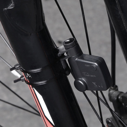 Bicicleta inal/ámbrica computadora Multifuncional Impermeable LCD Digital retroiluminaci/ón Pantalla Auto Despertador Bicicleta cuentakil/ómetros para Ciclismo al Aire Libre
