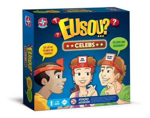 Jogo De Tabuleiro Board Game Eu Sou...? Celebridades Estrela