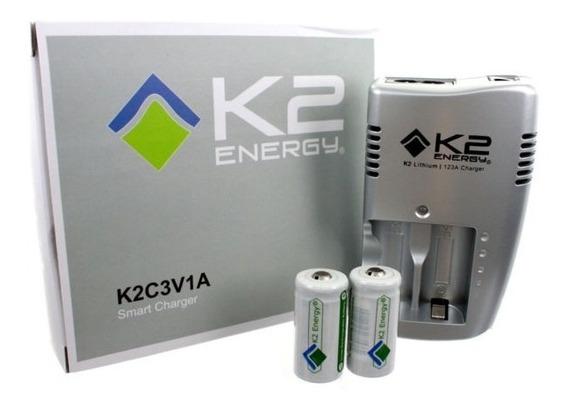 Carregador K2 Energy K2c3v1a De Íon De Lítio - Surefire