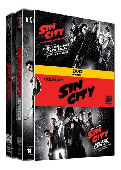 Dvd Coleção Sin City - Vol. 1 E 2
