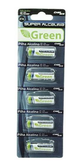 Pilha A27 27a 12v Bateria Alcalina 12v Cartela 5 Unidades