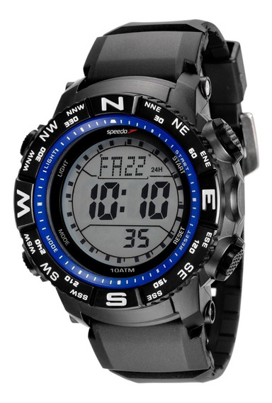 Relógio Speedo Masculino Ref: 81137g0evnp6 Esportivo Digital