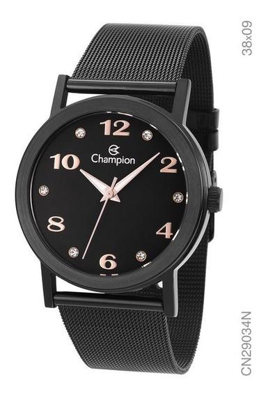 Relógio Champion Feminino Analógico Cn29034n Original