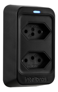 Adaptador Filtro Proteção Elétrica Intelbras Eps 302 Preto