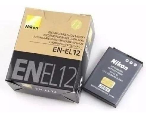 Bateria Nikon En-el12 P/ Aw130 Aw120 S9700 S9400 S8000 S6000