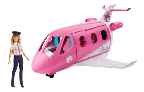 Barbie Dreamplane Avión Jet Con Muñeca