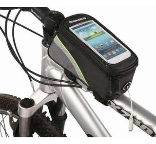 Bolsa Para Bicicleta Case Porta Celular Objetos Ferramentas