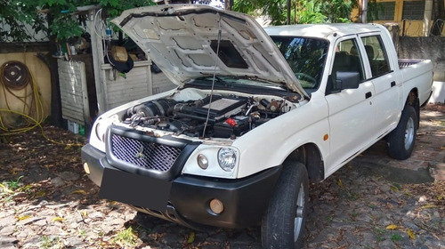 Mitsubishi L200 2008 2.5 Gl Cab Dupla 4x4 4p