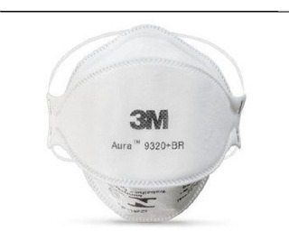 Respirador Máscara 3m Aura 9320 Br Pff2 N95 Inmetro Anvisa
