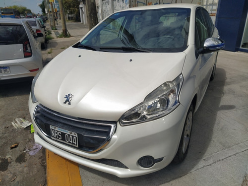 Peugeot 208 Actve 2014 Blanco Nrs Pe