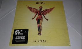 Lp Nirvana In Utero Vinil Novo E Lacrado
