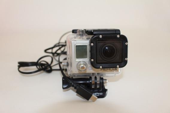 Câmera Gopro Hero 3 - Silver Edition - Usada
