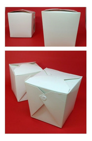 Caixa Box Comida Chinesa Oriental 1.000 Unidades 500 Ml
