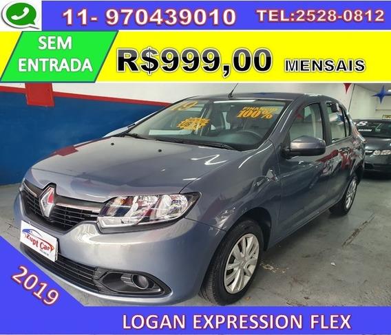 Renault Logan Flex Expression - Uber 99