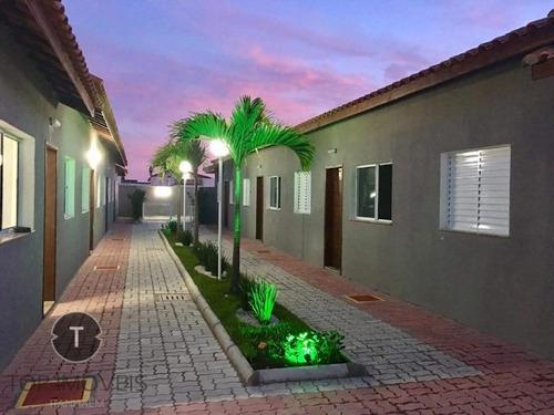 Imagem 1 de 27 de Casa Em Condomínio Com Piscina, Lado Praia No Cibratel Ii Em Itanhaém. - Ca00039 - 32928200