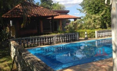 Chácara Com 1 Dormitório À Venda, 2250 M² Por R$ 535.000,00 - Chácaras Acapulco - Nova Odessa/sp - Ch0125